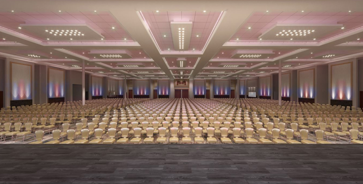 Banquet Hall - Theatre Style